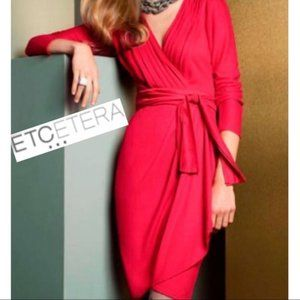 Etcetera Red Dress 8